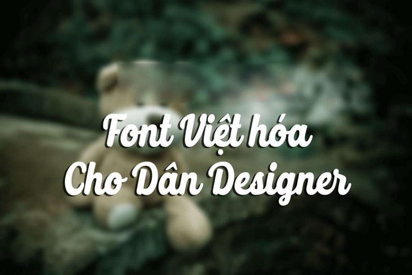 Các font chữ việt hoá